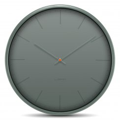 Tone Stainless Steel Wall Clock - Grey