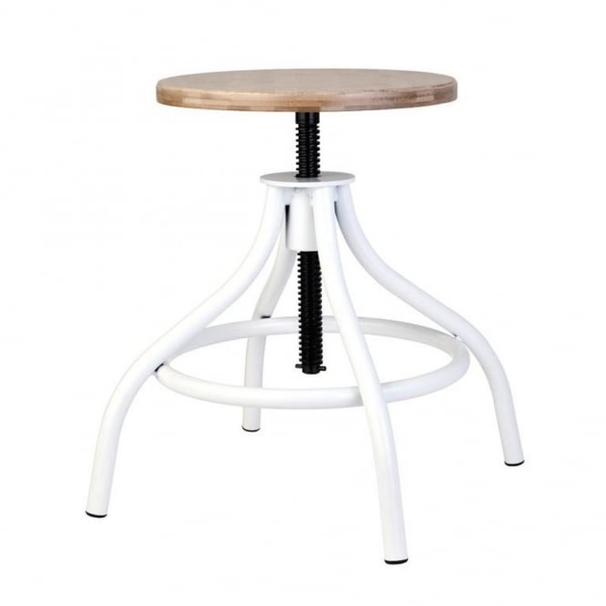 Lene Bjerre Delores Adjustable Stool - White
