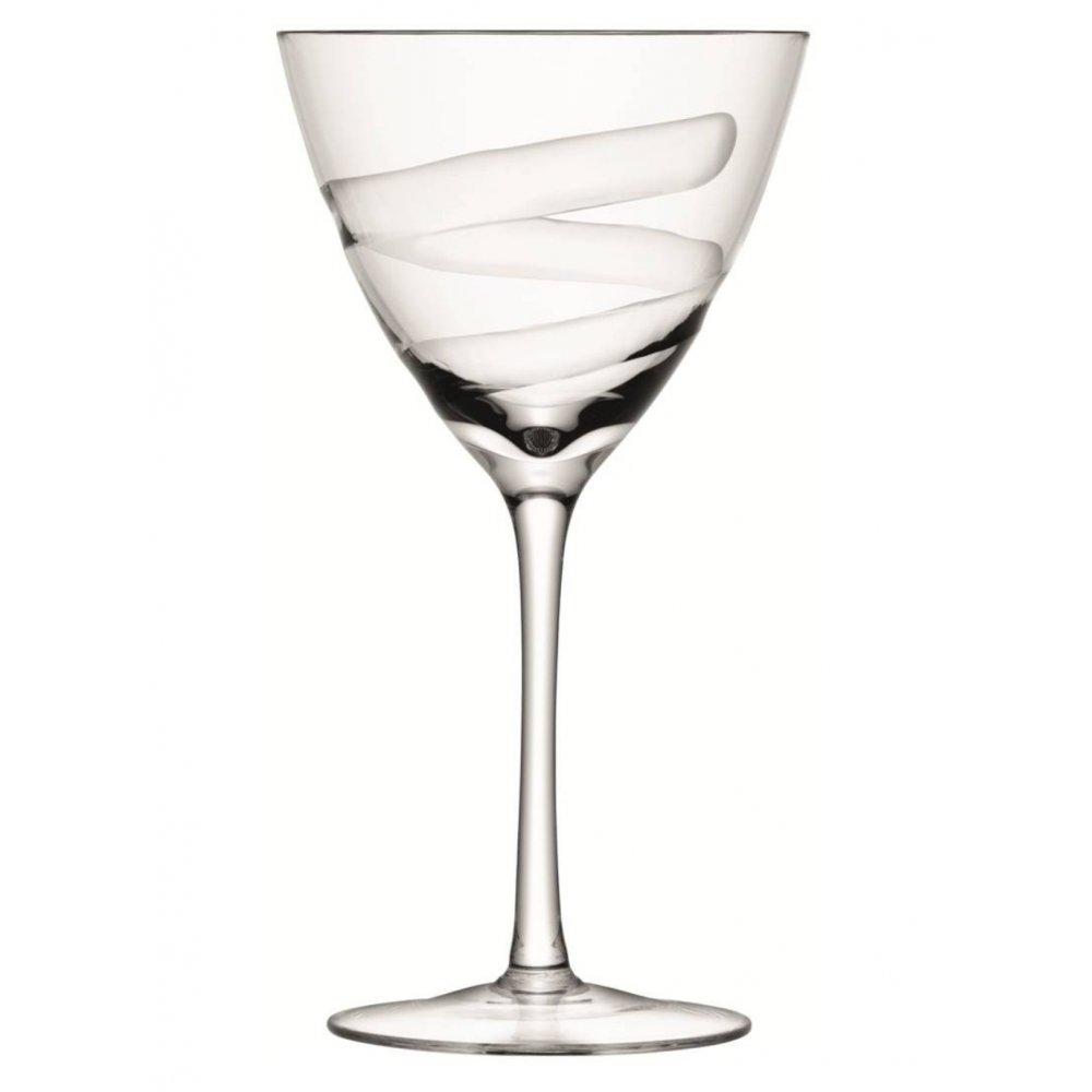 Lsa Charleston Set Of 4 Wine Glasses Goblets At Black By
