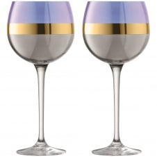 Bangle Balloon Glasses - Set of 2 - Blueberry