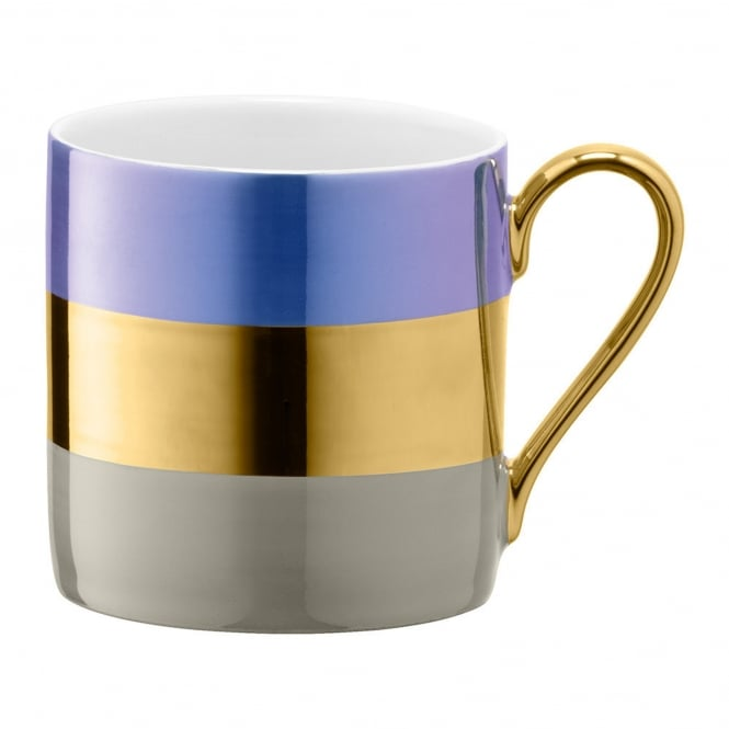 LSA International Bangle Porcelain Mug - Blueberry