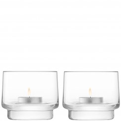City Bar Tealight Holder - Set of 2