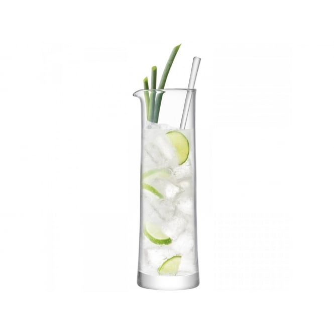 LSA International Gin Cocktail Jug & Stirrer 1.1Litre Clear