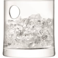 Gin Ice Bucket - Handmade Glass