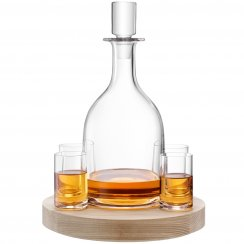 Lotta Decanter Set with Ash Base 0.95L