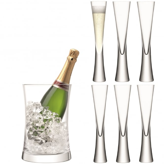 LSA International Moya Champagne Serving Set