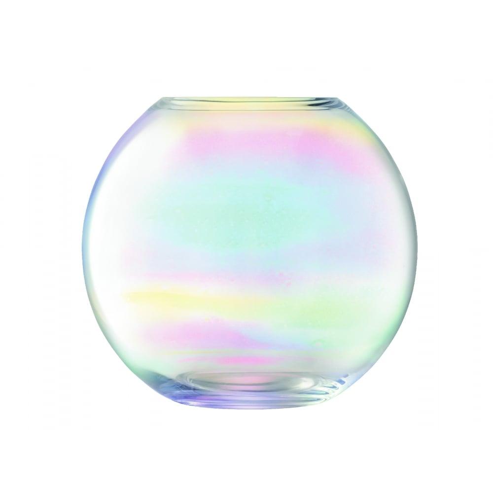 Lsa pearl vase 24cm black by design pearl spherical vase 24cm reviewsmspy
