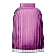 Pleat Vase - Heather - H20cm