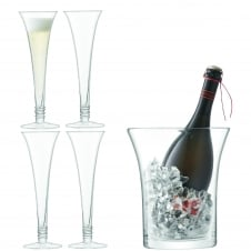 Prosecco Serving Set - Clear