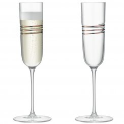 Remi Champagne Flutes - Set of 2