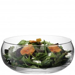 Serve Low Bowl 27.5cm Clear