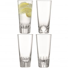 Tatra Assorted Mixer Glasses - 315ml - Set of 4