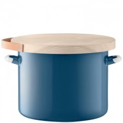 Utility Bread Bin & Ash Board - Juniper Blue