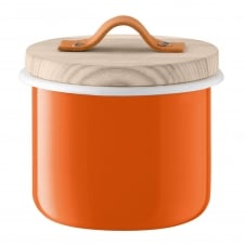 Utility Container with Ash Lid - Pumpkin Orange