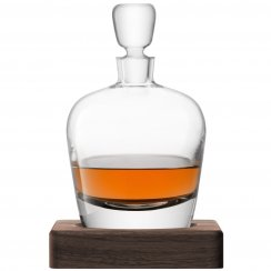 Whisky Arran Decanter on a Walnut Base - 1L