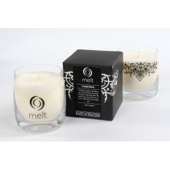 Luxury Hand Poured Scented Candle in a Glass Jar - Christmas