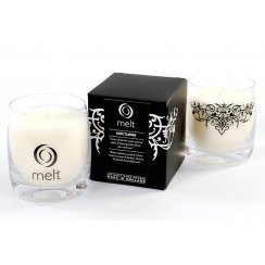 Luxury Hand Poured Scented Candle in a Glass Jar - Nocturne