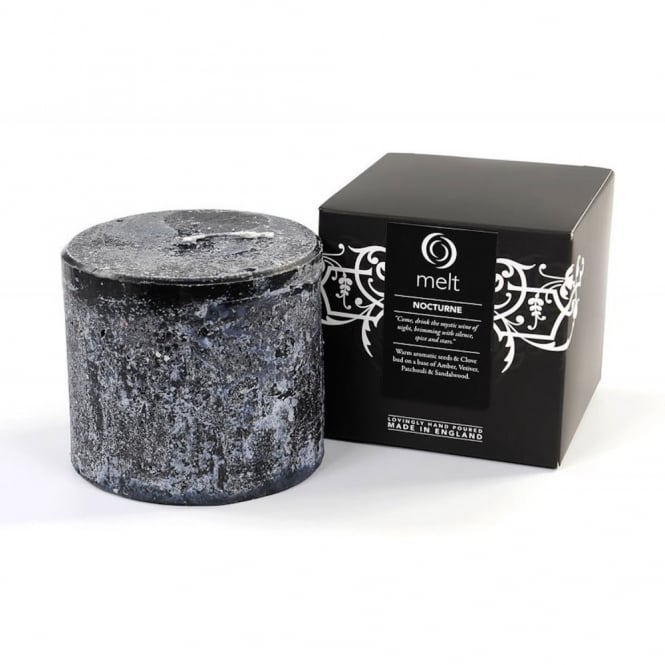 Melt Luxury Hand Poured Scented Candle - Nocturne