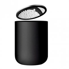 Cotton Bud Container - Black