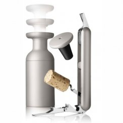 Norm Waiter's Corkscrew and Vacuum Pump - Ash