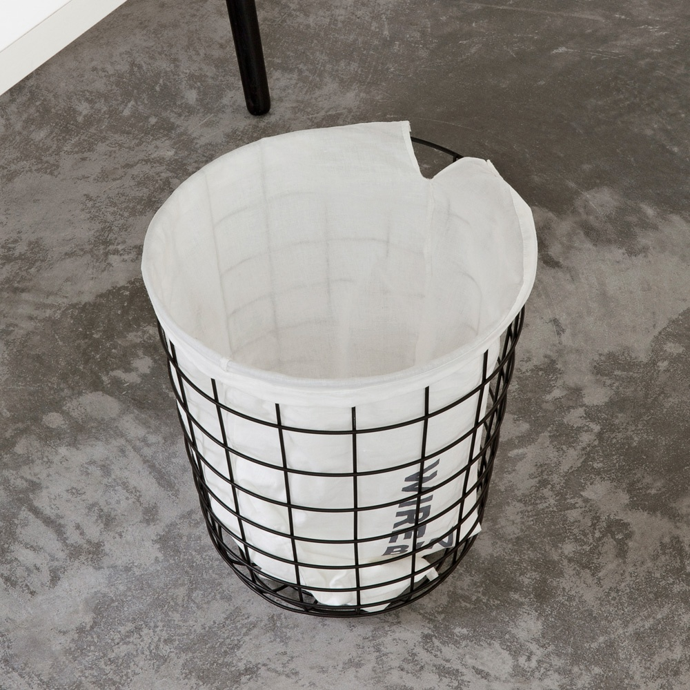 Menu Norm Wire Bin | Black | Black by Design