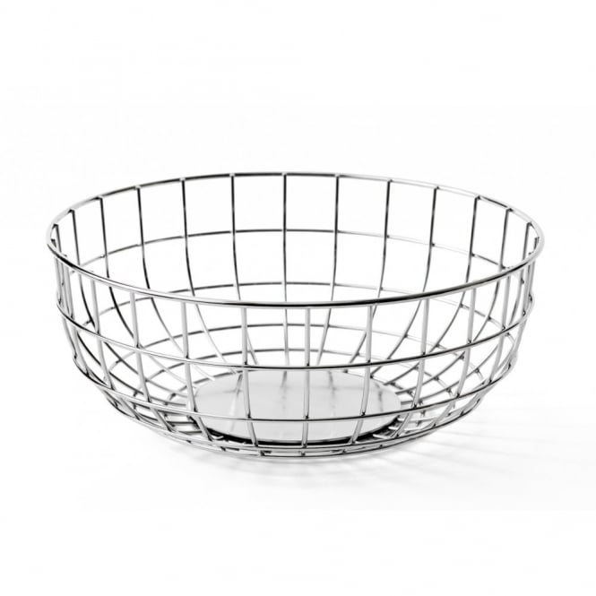 Menu Norm Wire Fruit Bowl - Chrome