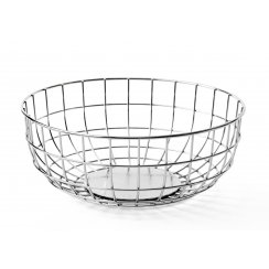 Norm Wire Fruit Bowl - Chrome