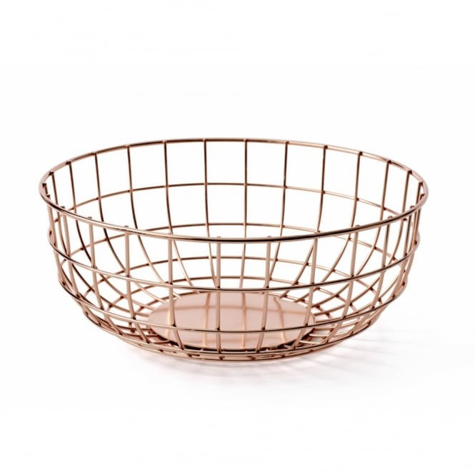 Menu Norm Wire Fruit Bowl - Copper