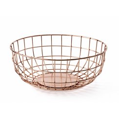 Norm Wire Fruit Bowl - Copper