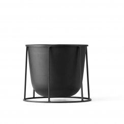 Wire Stand & Plant Pot - Small - Black
