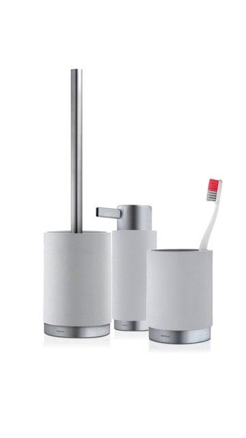 Blomus Ara Bathroom Set - Moon Grey