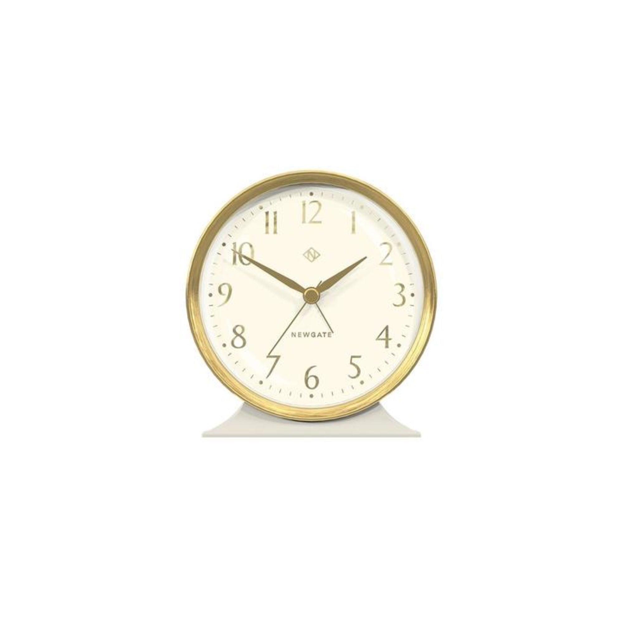 Buy Newgate Art Deco Hotel Alarm Clock Black By Design