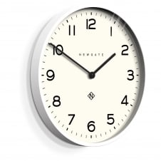 Echo - Number One Wall Clock - Pebble White - 53cm