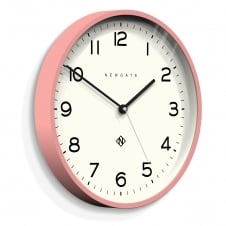 Echo - Number Three Wall Clock - Marshmallow Pink - 37cm