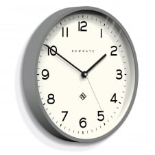 Echo - Number Three Wall Clock - Posh Grey - 37cm