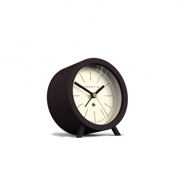 Newgate Fred Alarm Clock - Chocolate Black