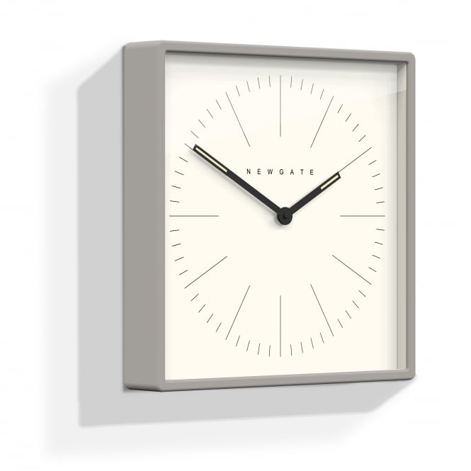 Newgate Mr Robinson Square Wall Clock - Grey