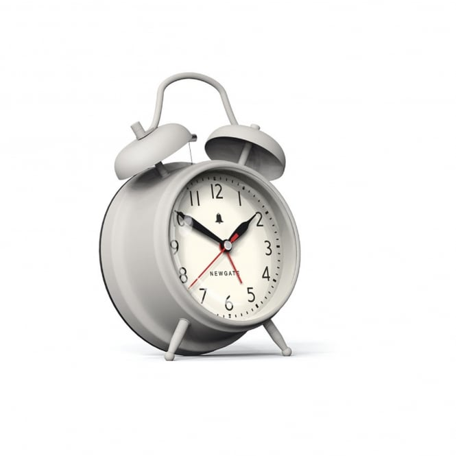 Newgate New Covent Garden Alarm Clock - Overcoat Grey