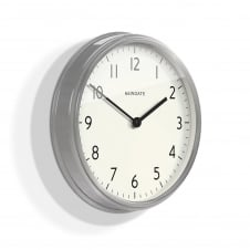 Spy Wall Clock - Brushed Steel