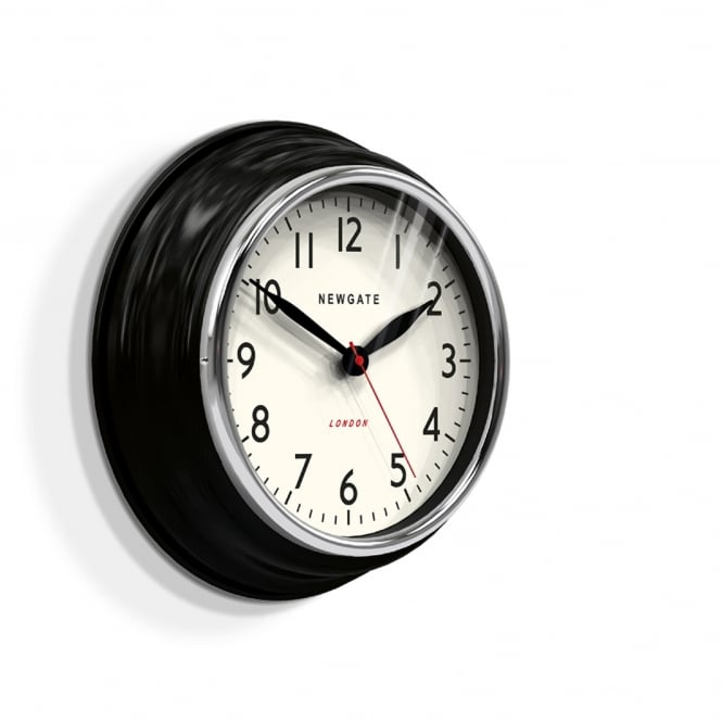 Newgate The Cookhouse Wall Clock - Black