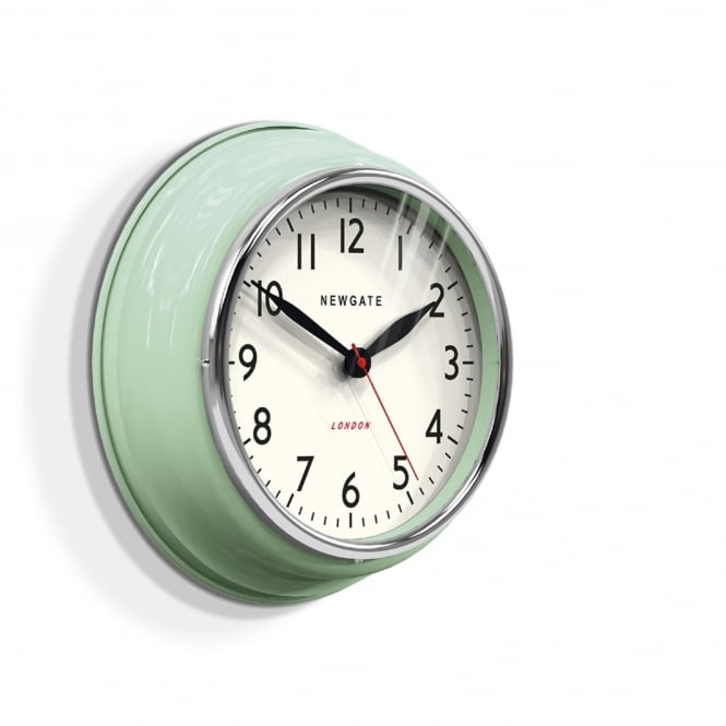 Newgate The Cookhouse Wall Clock - Kettle Green