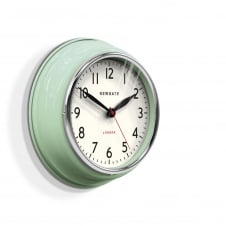 The Cookhouse Wall Clock - Kettle Green