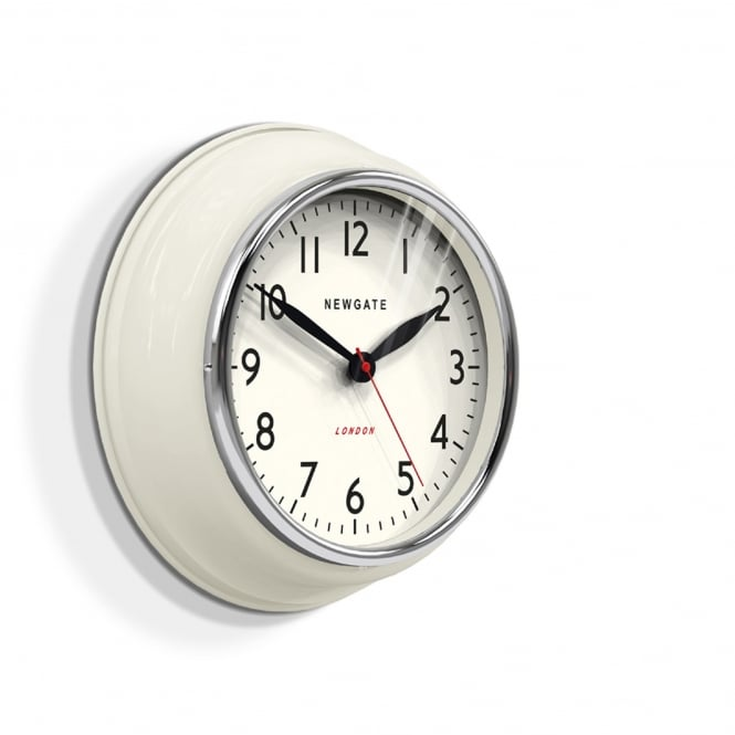 Newgate The Cookhouse Wall Clock - Linen White