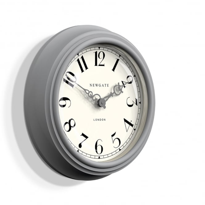 Newgate The Dormitory Wall Clock - Posh Grey