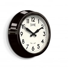 The Electric Wall Clock - Black
