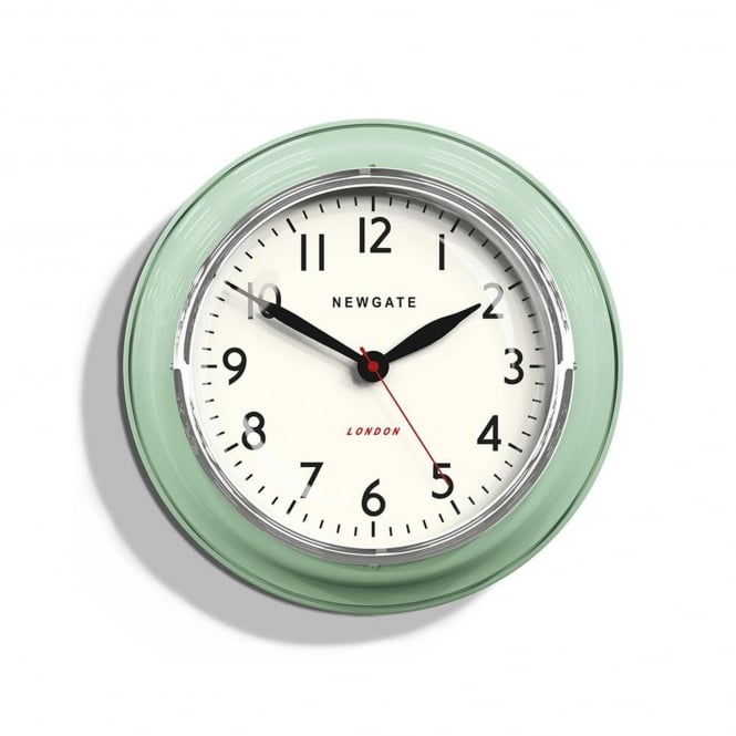 Newgate The Mini Cookhouse Wall Clock - Kettle Green