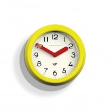The Pantry Wall Clock - Citrus Yellow