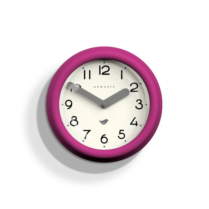 Newgate The Pantry Wall Clock - Hot Pink