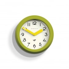 The Pantry Wall Clock - Lime Green