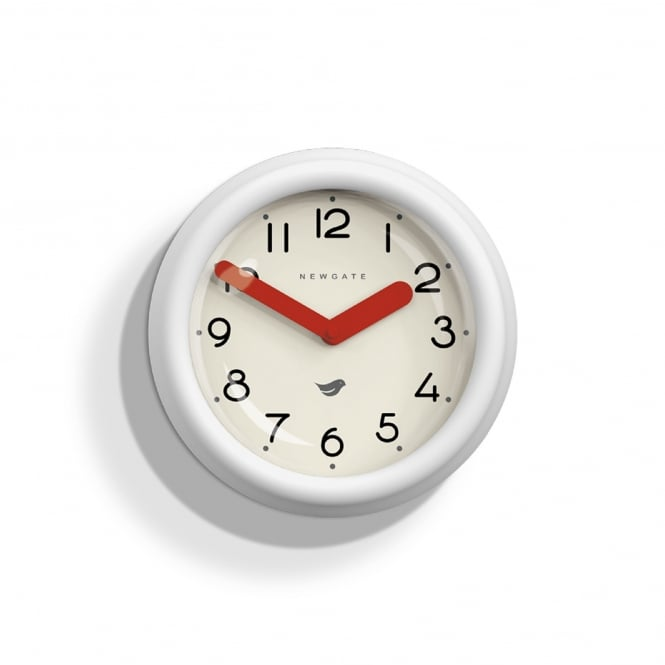 Newgate The Pantry Wall Clock - Pebble White